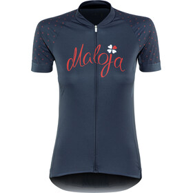 Maloja PortaM. Shortsleeve Bike Jersey Damen mountain lake